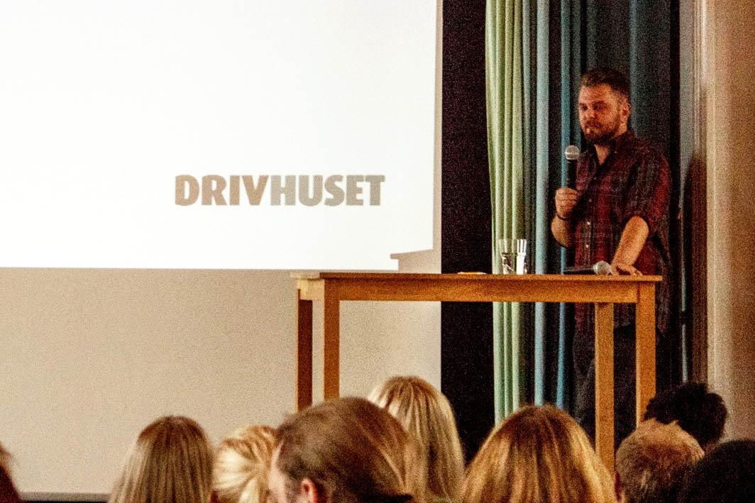 Föreläsning och utbildningstillfälle för studenter under Inslussningen.